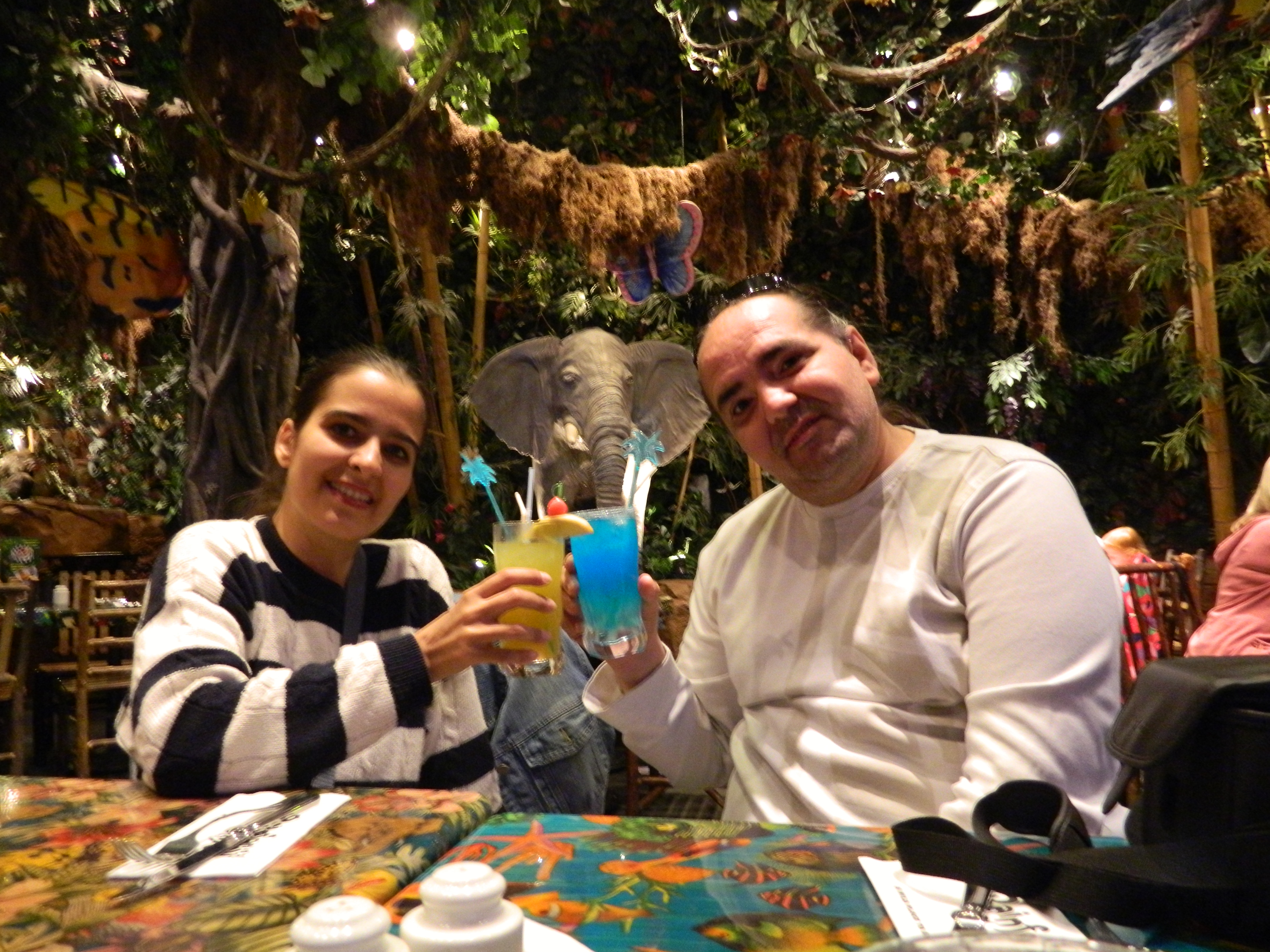 Rainforest Cafe in Disney Village
