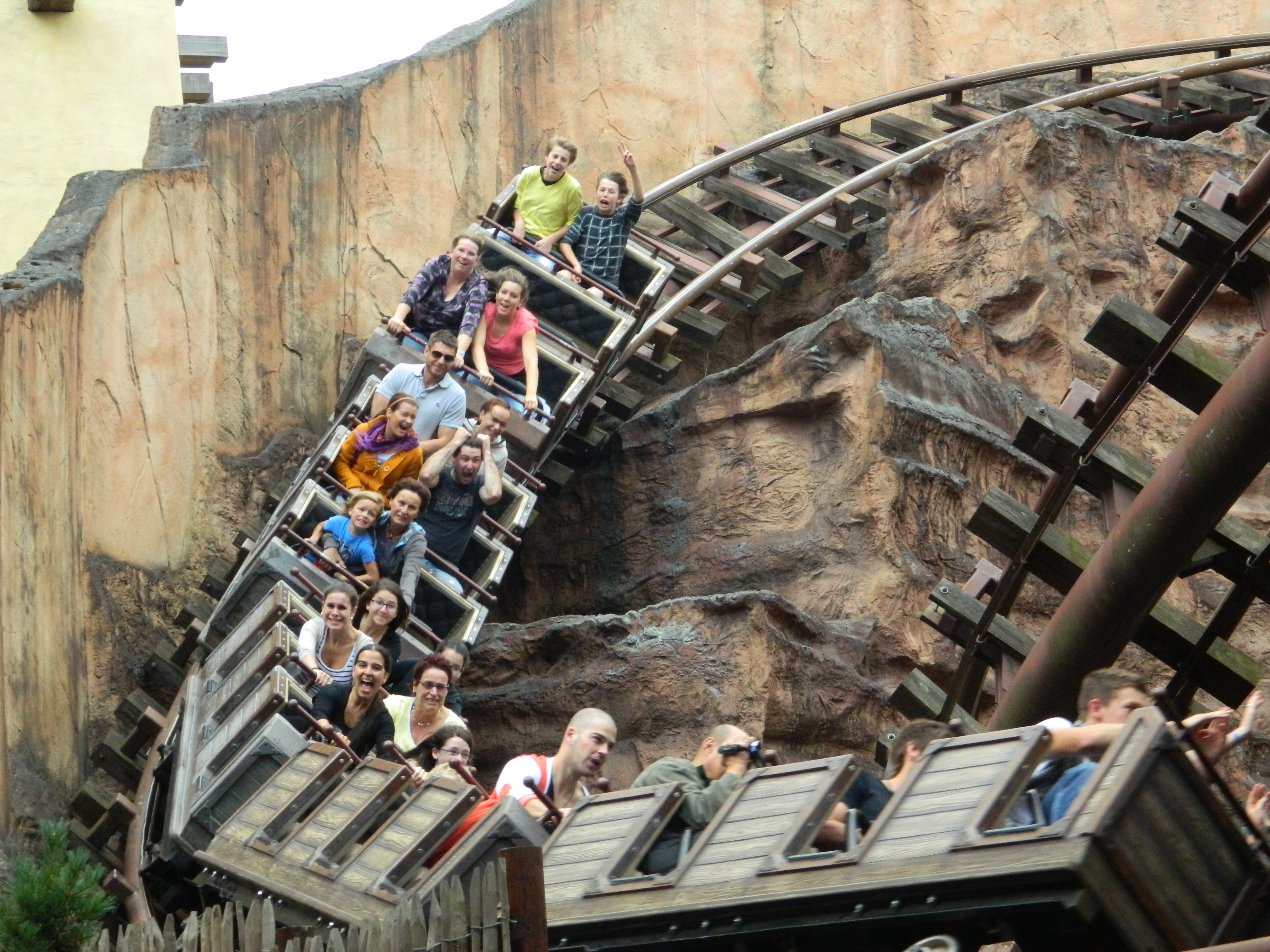 Colorado Adventure in Phantasialand Bruhl