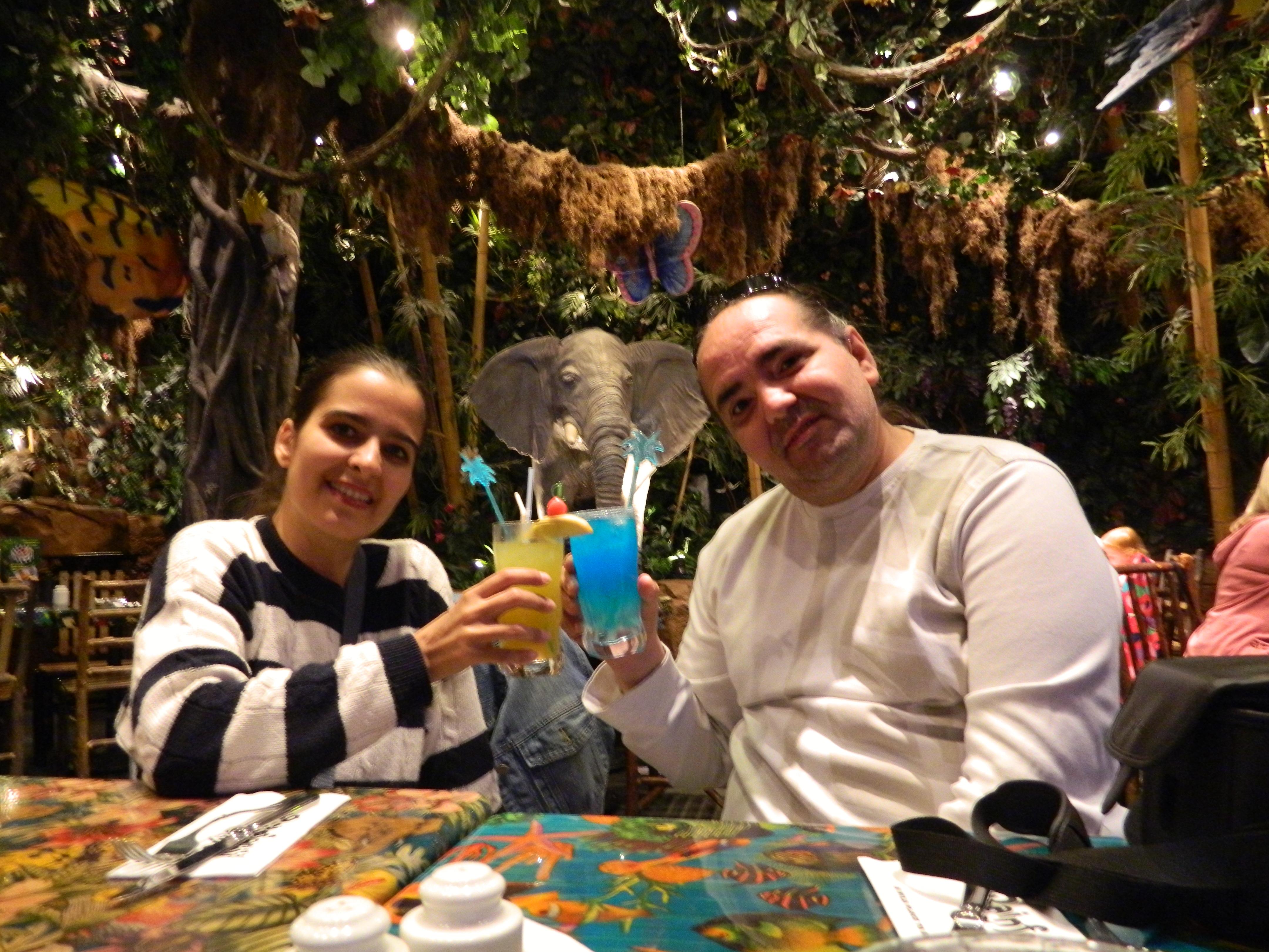 Rainforest Cafe in Disney Village